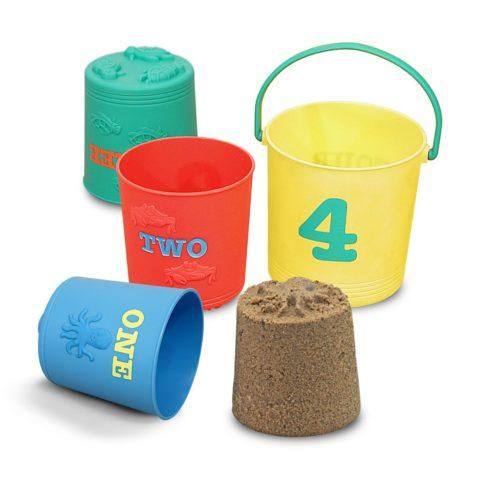 strandspande, sandkasse sæt, strand, sand, sortering, nesting, stable, tælle, sandslot, kategorisering, kognition,