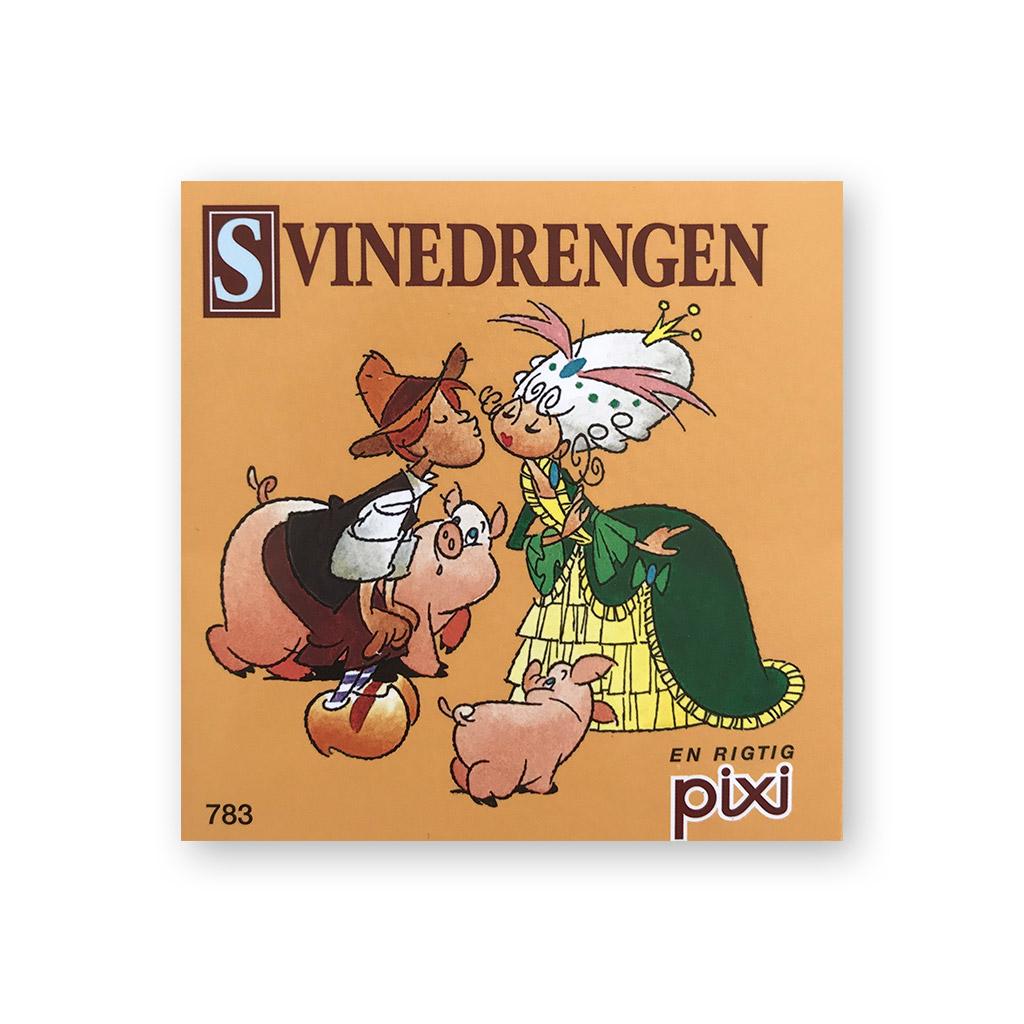svinedrengen, Pixi, eventyr, HC andersen, H.C. Andersen, den grimme ælling, læse, højtlæsning