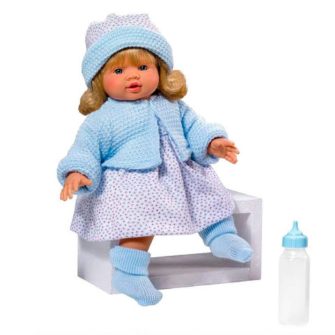 emma, dukke der kan tale, dukke med sutteflaske, asi-dukke, asidukke, dukketilbehør, dukke, dukker, baby dukke, baby, roleleleg, asi, así.