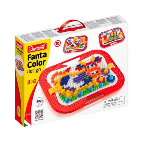fanta color, mosaik, mosaik stifter, kreativ, billede, høretab, audiologi, legeaudiometri, droptest, linglydstjek