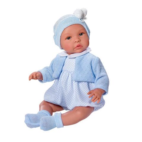Leo babydukke, leo sommerdragt, leo m. heldragt, leo, asi-dukke, asidukke, dukketilbehør, dukke, dukker, baby dukke, baby, rolleleg, leg, asi, así. dukkeleg, dukkekrog, julegave