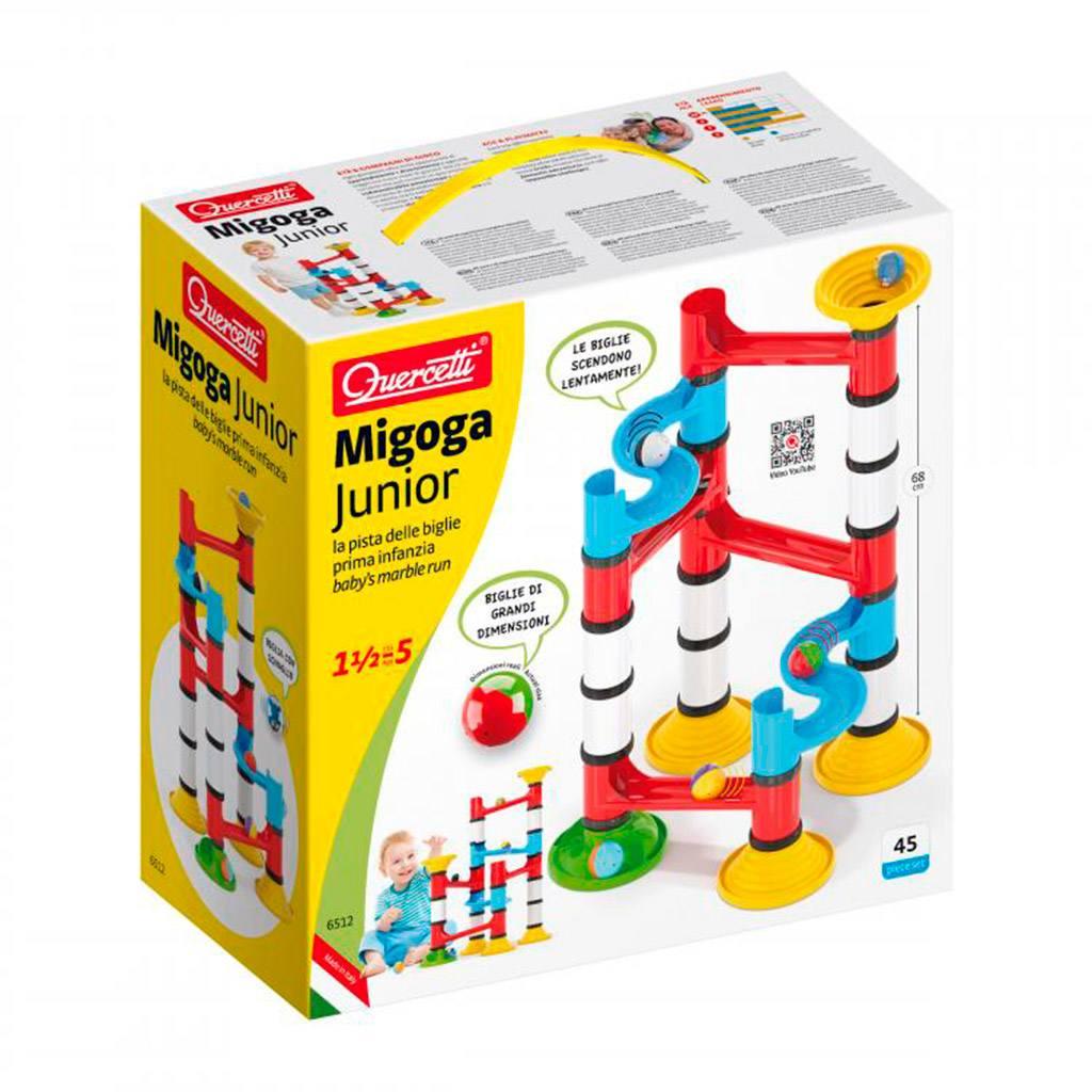 Migoga junior kuglebane, kuglebane, migoga, quercetto, linglydstjek, linglydscheck, imitations leg