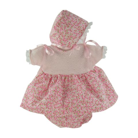 kjole sæt, dukkekjole, dukketøj, dukketøj 36 cm, Kasi dukketøj, kode, liberty kjole, retro kjole til dukke, dukketilbehør, asi, así,