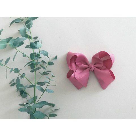 rose little olga sløjfe 10 cm. Hårsløjfe og hårbånd til piger