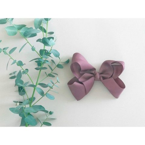Chocolat chip bow from little olga 10 cm. Bows and headbands for girls