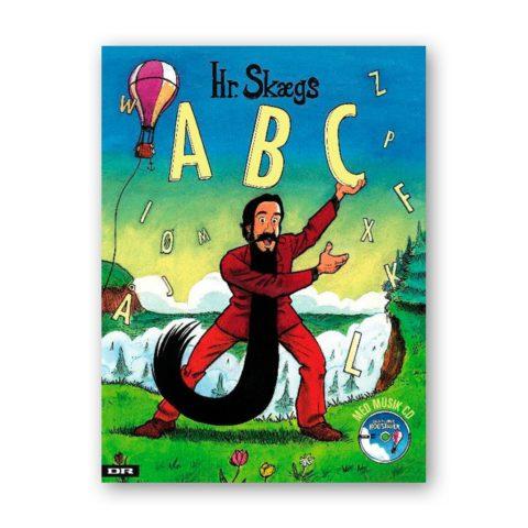 hr. skægs abc en børnebog der lærer barnet om bogstaver gennem sang og rim. Bogen indeholder også en abc CD