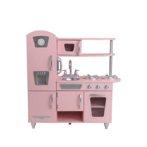 legekøkken i pink fra kidkraft. Stort legekøkken med mange detaljer. Se vores udvalg af Kidkraft legetøj på CIHA