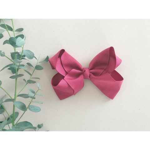 Victorian Rose bow from little olga 10 cm. Bows and headbands for girls