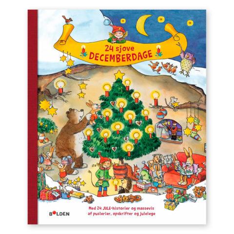 24 sjove decemberdage er en sjov julebog med aktiviteter til den søde ventetid. Dag til dag levering ciha.dk