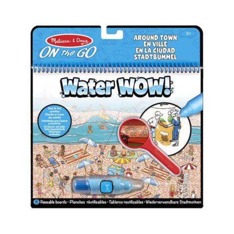 deluxe water wow med aktiviteter rundt omkring i byen. Vand malebog som er perfekt på ferien eller rejsen. Køb hos ciha.dk