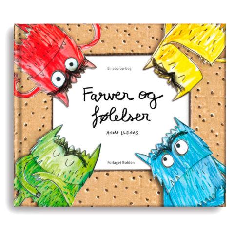 Farver og følelser i en sjov og humoristisk pop-up bog. For børn i alderen 3-8 år. Køb hos ciha.dk