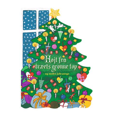 Højt fra træets grønne top er en jule sangbog. Dag til dag levering hos ciha.dk