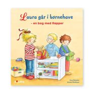 Laura går i børnehave er en sjov bog med flapper for børn i alderen 4-10 år. Dag til dag levering