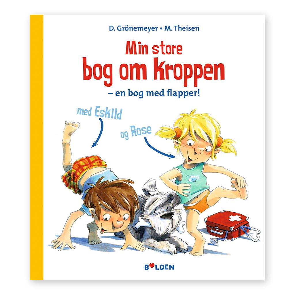 Min store bog om kroppen er en stor faktabog med flapper for børn i alderen 4-10 år. Dag til dag levering hos ciha.dk