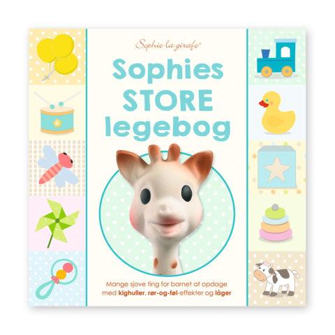 Sophies store pegebog for de mindste. Bog der stimulerer barnets sanser. DA