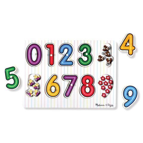 se bag nummeret puslespil fra Melissa and doug. Lær om tal og mængder. ciha.dk