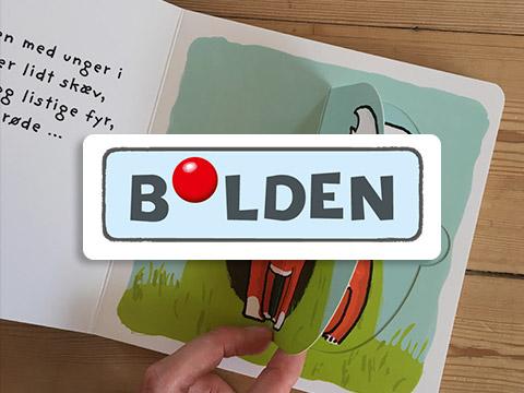forlaget bolden børnebøger fra 0-10 år. Køb hos ciha.dk