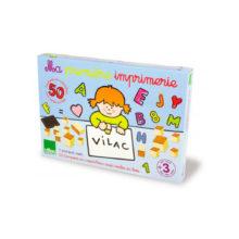 Sjovt alfabettrykkeri med bogstaver fra Vilac. Gratis levering over 500 kr. hos www.ciha.dk
