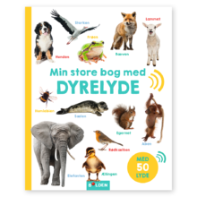 min verden af dyrelyde. En lydbog fra forlaget Bolden. Dag til dag levering hos www.ciha.dk