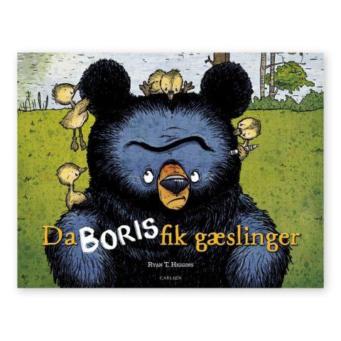 da boris fik gæslinger. En sjov og charmerende børnebog. Køb hos www.ciha.dkj