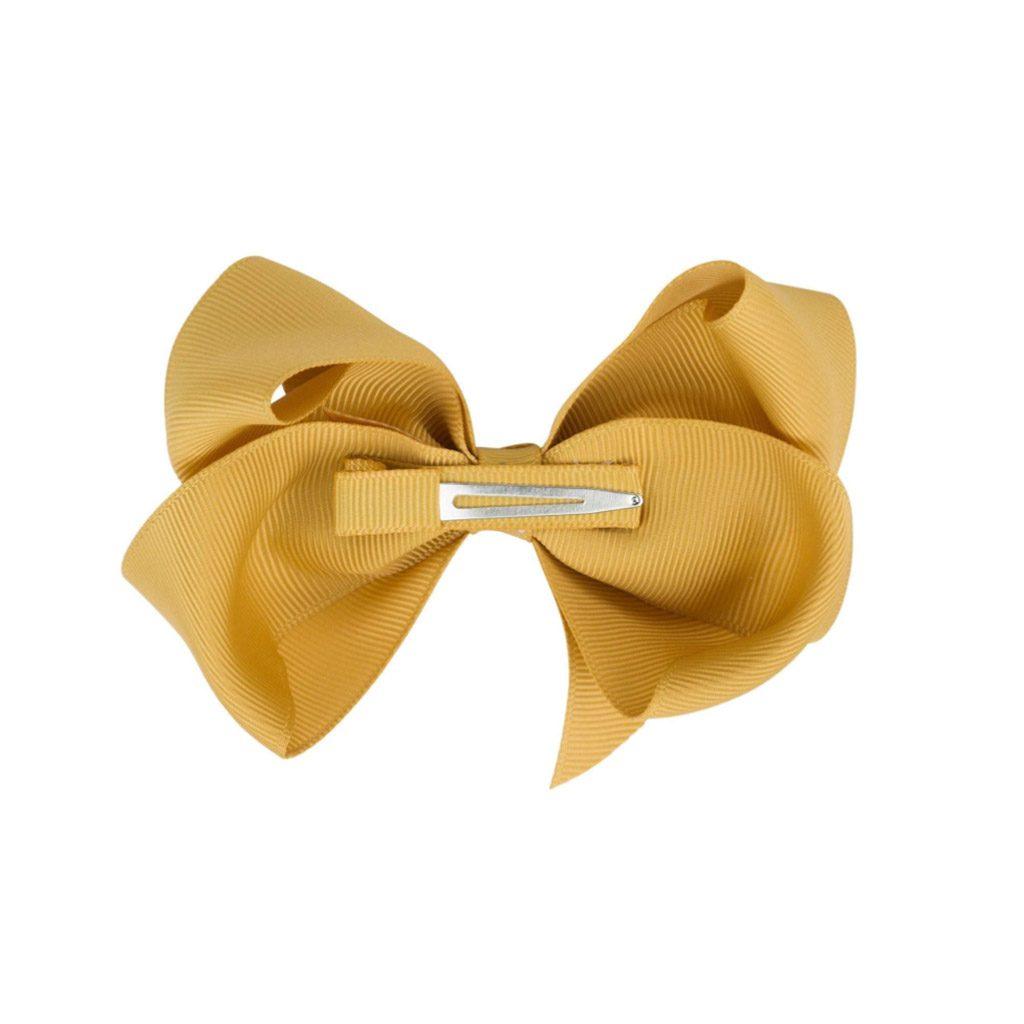 by stær sløjfe i stor (10 cm). Brug den som almindelig hårspænde eller til at pifte dit CIHA pandebånd op.