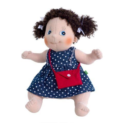 alma Rubens kids dukke. Sød og blød dukke velegnet som barnets første dukke. Gennem rollelegen styrkes barnets empatiske færdigheder. Køb Rubens barn hos www.ciha.dk