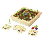 Huskespil i træ med sjov køkkenhave. Styrker barnets hukommelse for flere genstande, Køb varer fra vilac hos www.ciha.dk