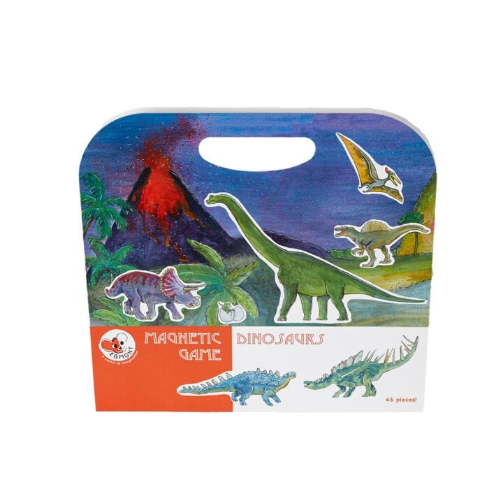 Magnetbog dinosaur