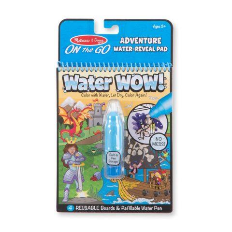 Adventure water wow vand malebog. Nem og sjov underholdning på farten. Køb hos Ciha.dk