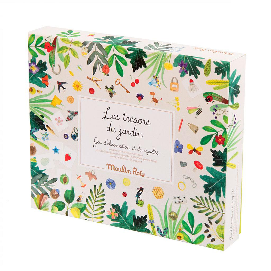 Les tresoro du jardin Observations spil fra Moulin Roty. Den smukke og populære haveserie. Køb Moulin Roty hos www.ciha.dk