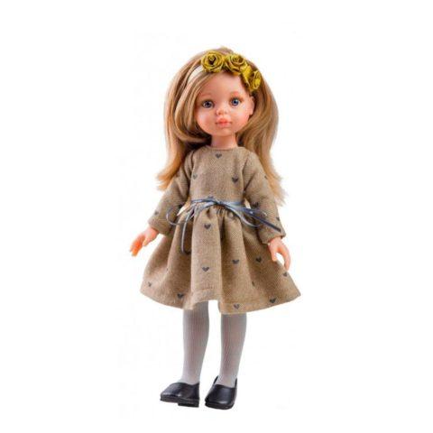 Carla fra Amiga serien. Dukker fra Paula reina emmer af kvalitet og godt håndværk. Dukkerne måler 32 cm og dukketøj kan tilkøbes hos www.ciha.dk