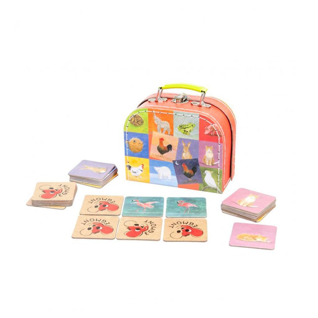 Modsætninger i et sjovt vendespil fra Egmont Toys. Pakket i en sød kuffert. Køb lærerige børnespil hos ciha.dk