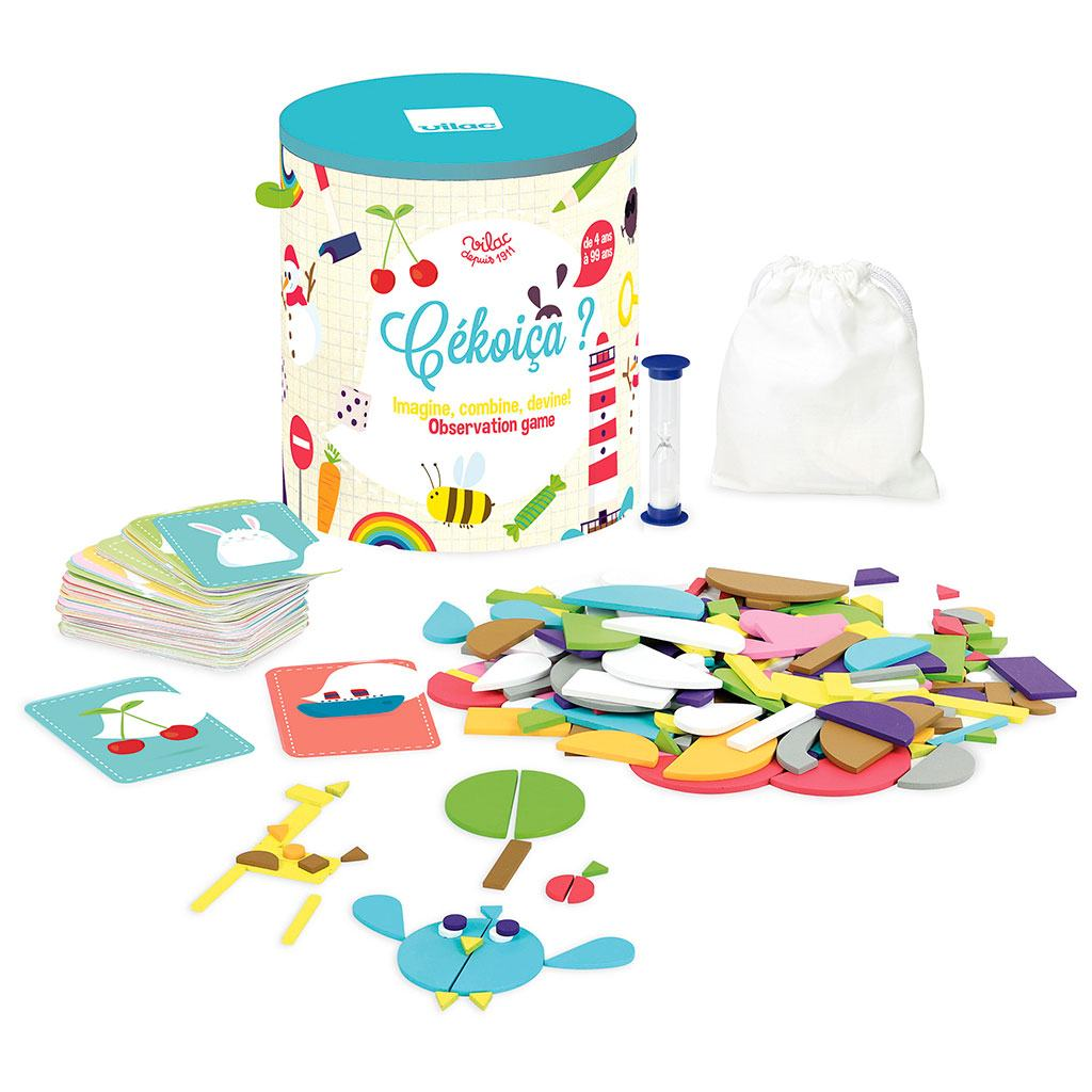 hvad et det? sjovt familie spil fra vilac. køb børnespil hos www.ciha.dk