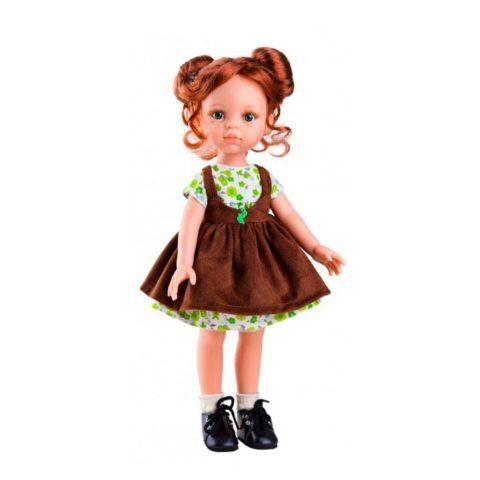 Cristi fra Amiga serien. Dukker fra Paula reina emmer af kvalitet og godt håndværk. Dukkerne måler 32 cm og dukketøj kan tilkøbes hos www.ciha.dk