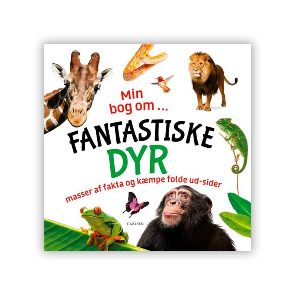 bliv meget klogere på de fantastiske dyr med denne sjove bog. Køb børnebøger hos www.ciha,dk