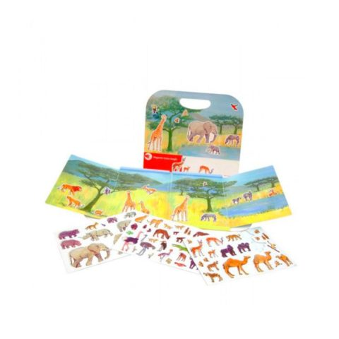 Magnetisk bog med jungle. Sjov leg på farten der styrker sproget på flere områder. Køb magnetiske bøger fra Egmont hos www.ciha.dkj