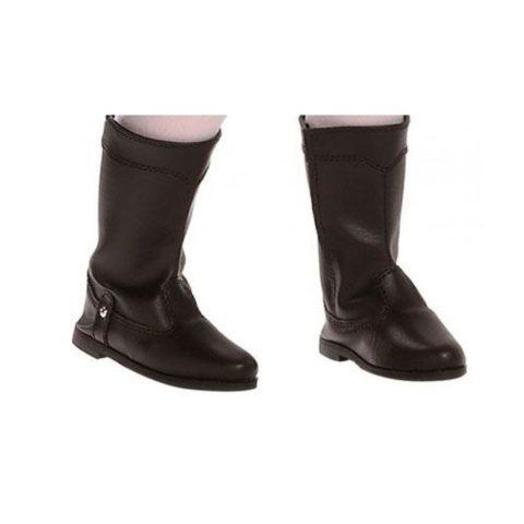 sorte støvler til dukker fra paola reinas amiga dukke serie