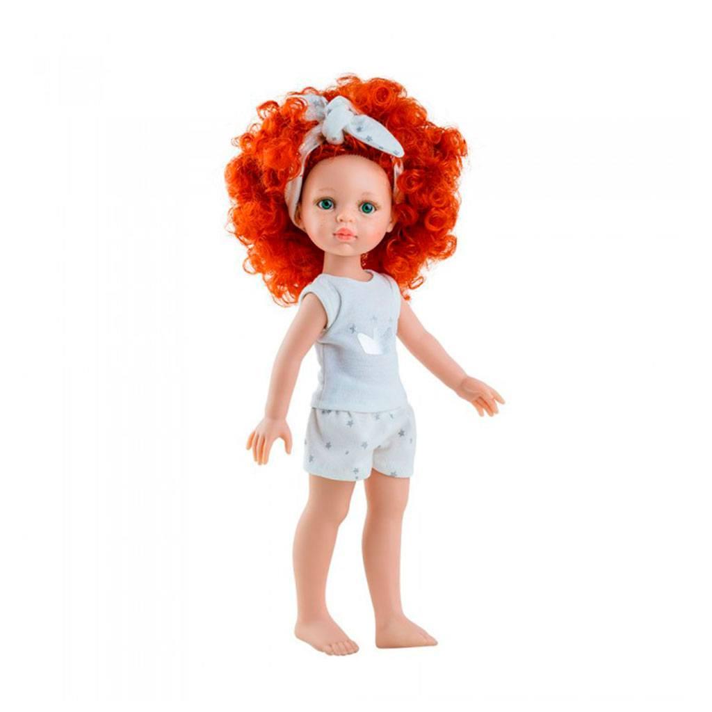 Carolina fra Amiga serien. Dukker fra Paula reina emmer af kvalitet og godt håndværk. Dukkerne måler 32 cm og dukketøj kan tilkøbes hos www.ciha.dk