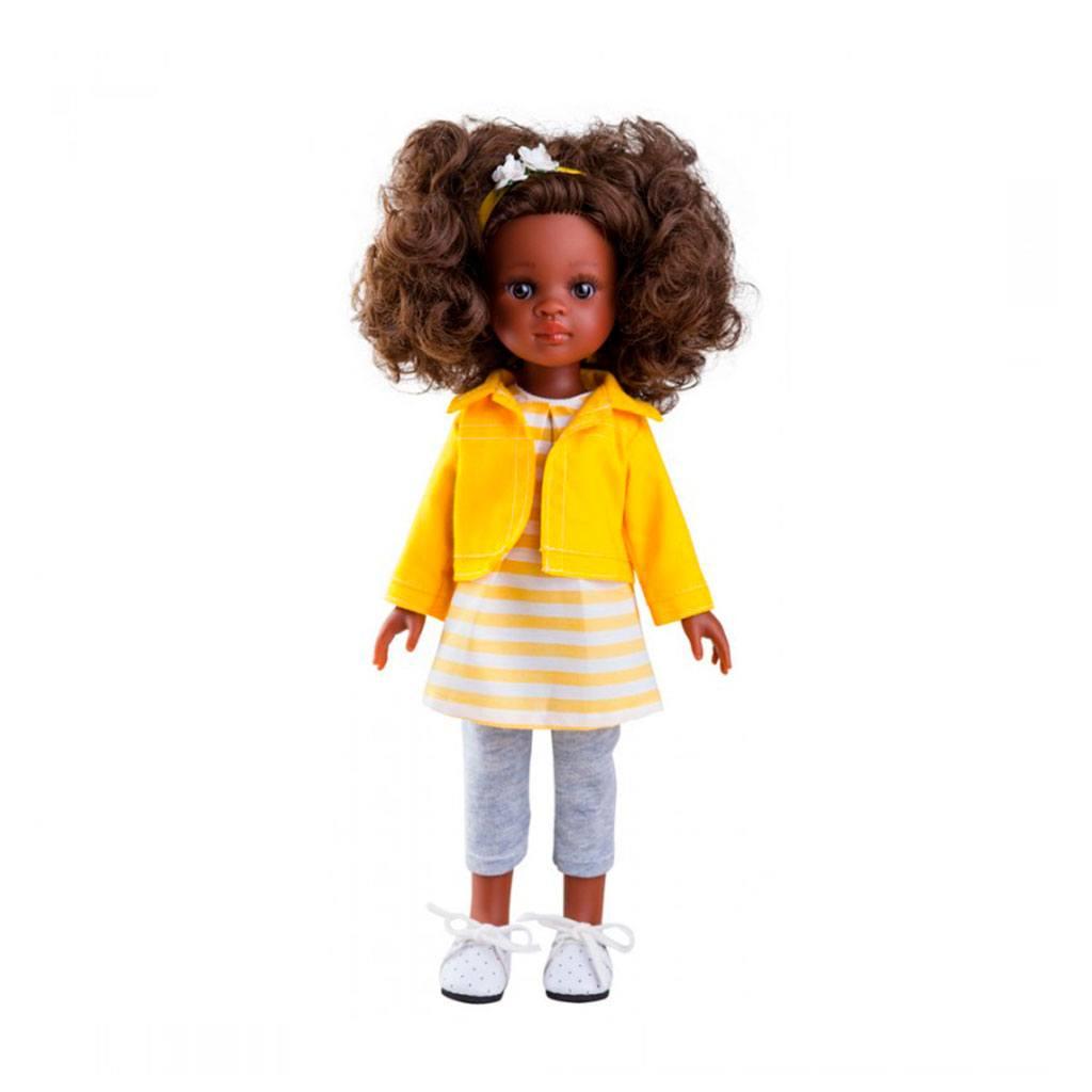 Nora fra Amiga serien. Dukker fra Paula reina emmer af kvalitet og godt håndværk. Dukkerne måler 32 cm og dukketøj kan tilkøbes hos www.ciha.dk