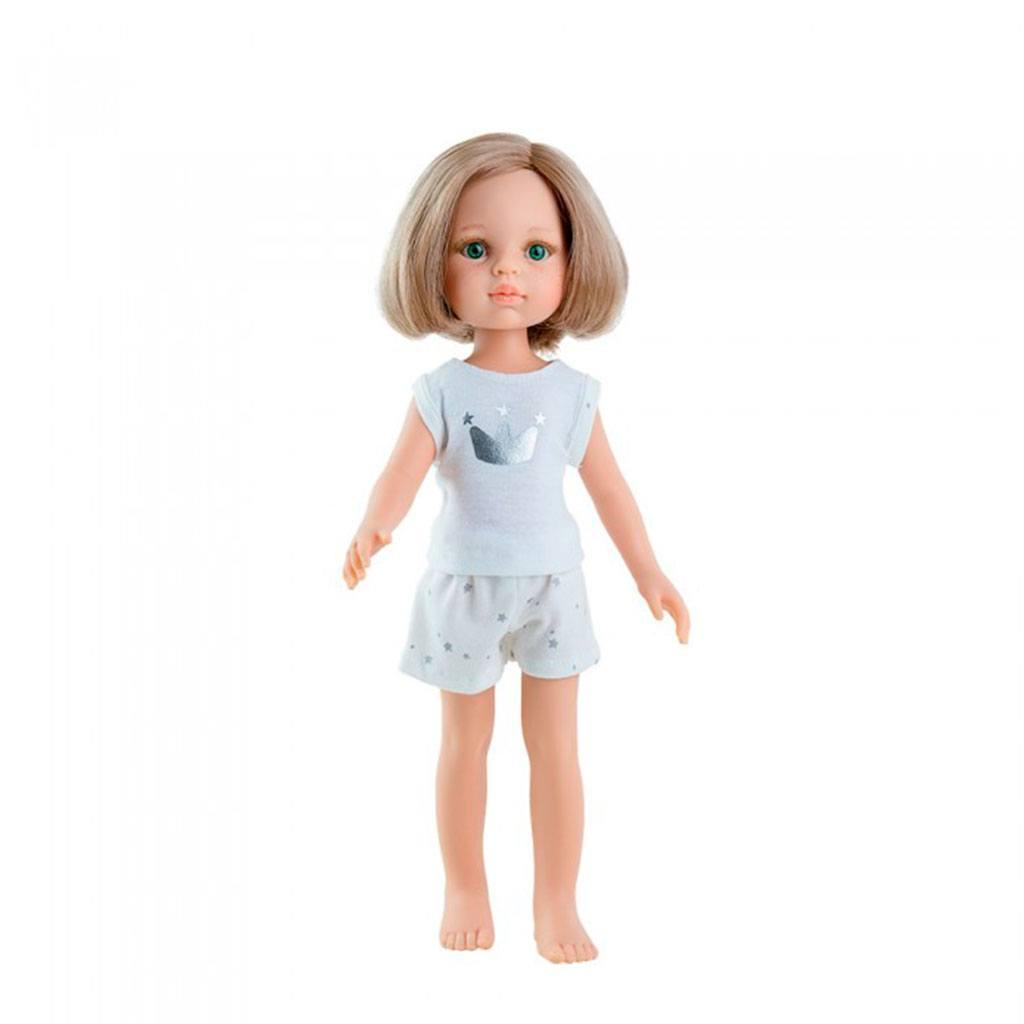Carla i undertøj. Amiga dukke serie fra Paola Reina. Denne serie fås med undertøj og er derfor billigere. Køb Amiga dukker hos www.ciha.dk