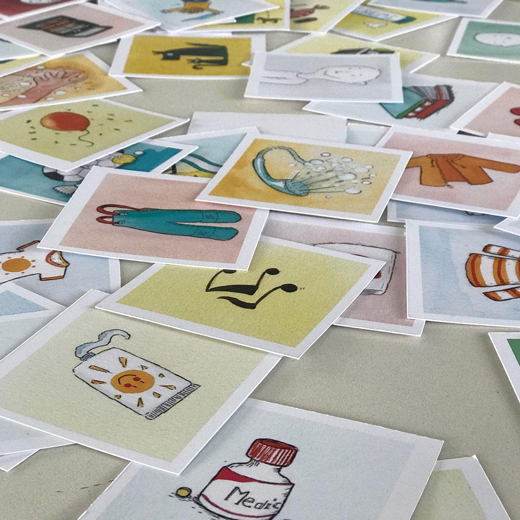 MIn dag i piktogrammer er med til at skabe struktur og overblik hos børnefamilier - hvad enten der er udfordringer eller ej. Oplev færre konflikter med bedre struktur og forudsigelighed for børnene