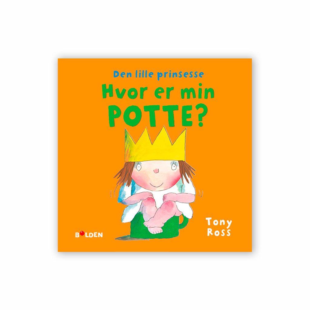Den lille prinsesse: Hvor er min Potte? En bog om at smide bleen og blive renlig. Køb børnebøger hos ciha.dk