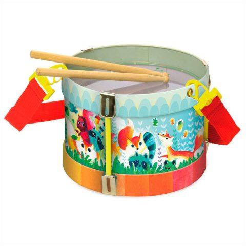 Vilac tromme til børn. Musikinstrumenter til børn hos www.ciha.dk