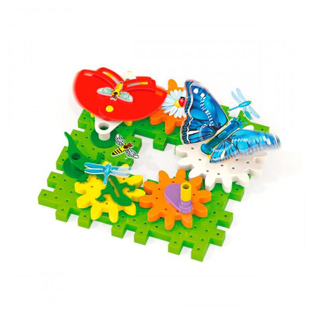 Garden fun sjov med tandhjul. Læreriogt legetøj der styrke barnets kognition. Køb quercetti hos ciha.dk