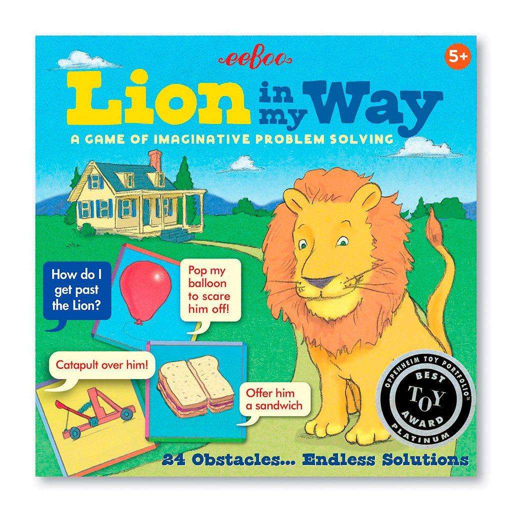 En løve på min vej er et sjovt spil om problembaseret læring. Sjovt og lærerigt spil der styrker barnets kognition og fantasi. Køb hos ciha.dk