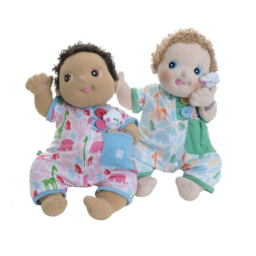 Pink pyjamasnattøj til Rubens baby