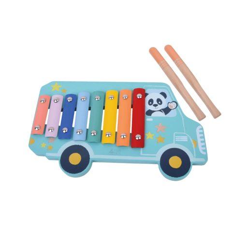 Panda Xylofon. barnets første musikinstrumenter fra Studio Circus.