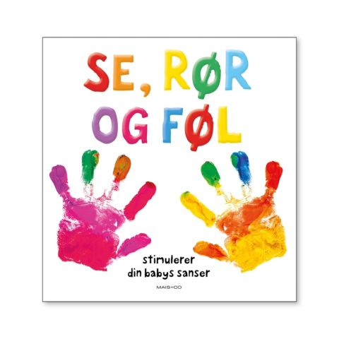Se rør og føl sansebog for små børn