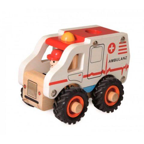 Ambulance med gummihjul