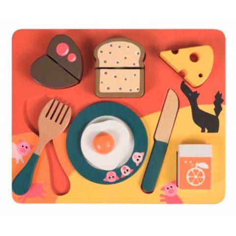 morgenmad på bakke fra Egmont toys